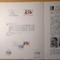 Sellos: DOCUMENTOS FILATELICOS XIII FERIA NACIONAL DEL SELLO 1980 + REGALO. Lote 243684935
