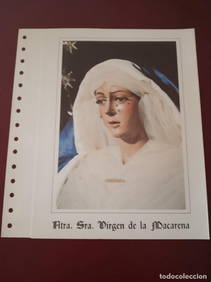 Sellos: 5 documentos filatelicos sin sellos,la reina sofia,franco,velazquez,virgen macarena,santa teresa - Foto 2 - 244559735