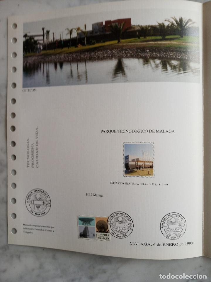 Sellos: 4 documentos filatelicos,malaga - Foto 8 - 244830980