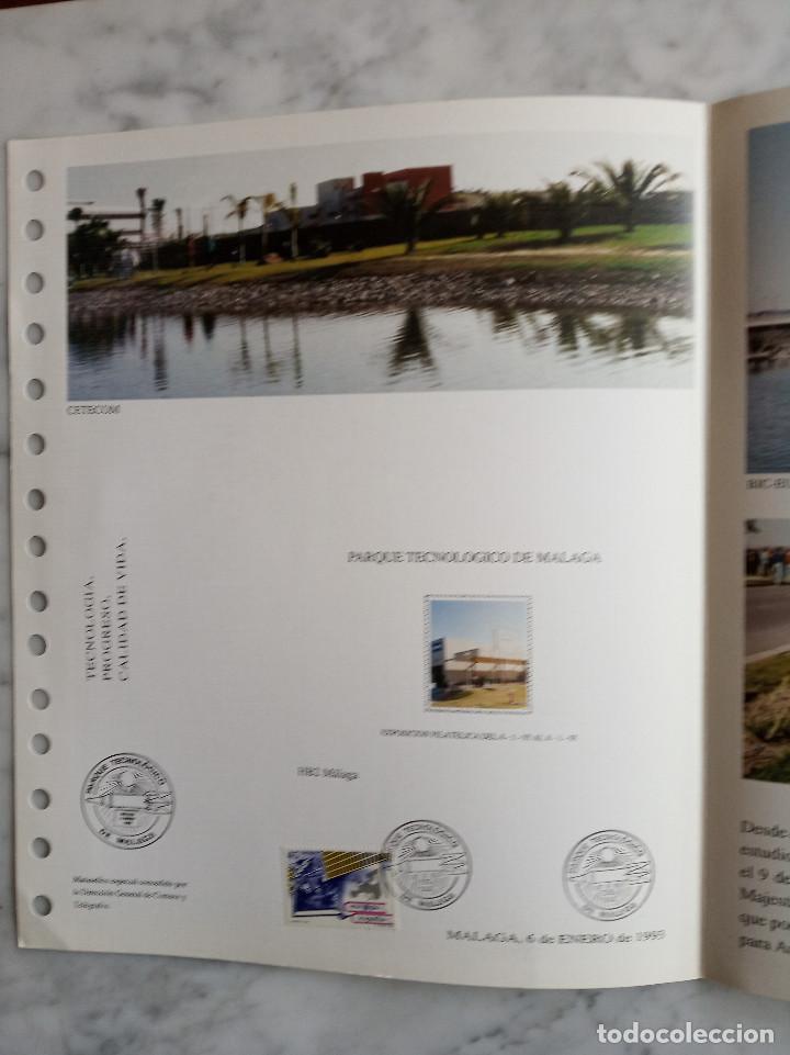 Sellos: 5 documentos filatelicos,malaga - Foto 8 - 244831650