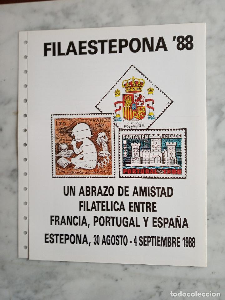 Sellos: 5 documentos filatelicos,malaga - Foto 9 - 244831650