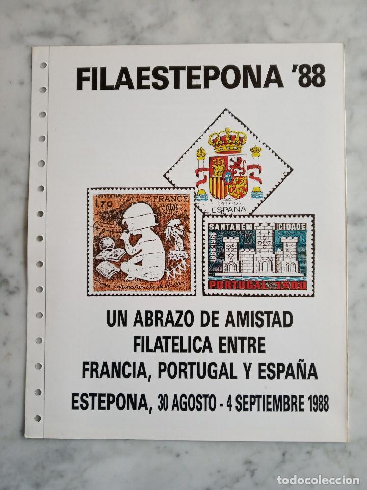 Sellos: 5 documentos filatelicos - Foto 7 - 244835055