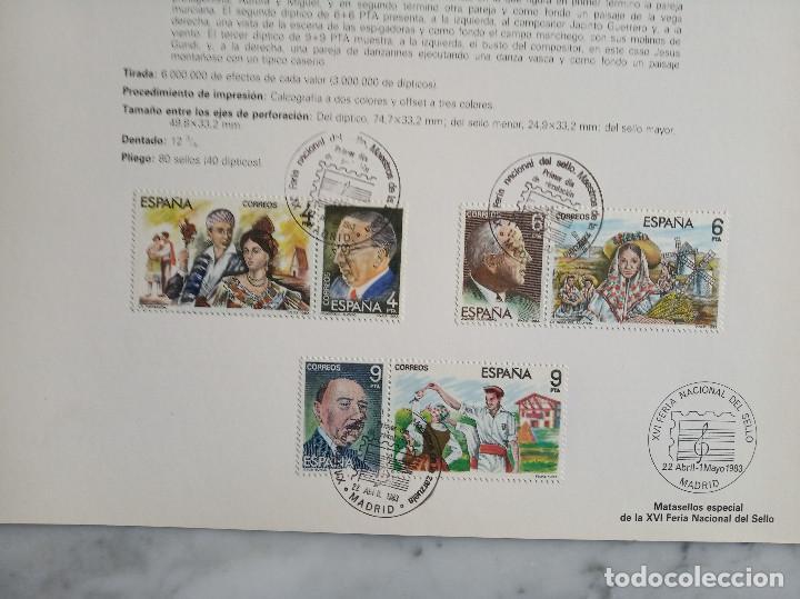 Sellos: 5 documentos filatelicos - Foto 2 - 244837410
