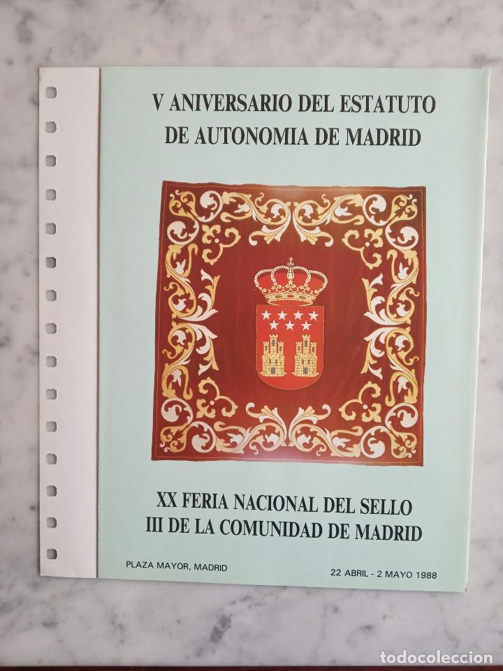 Sellos: 5 documentos filatelicos - Foto 5 - 244837410