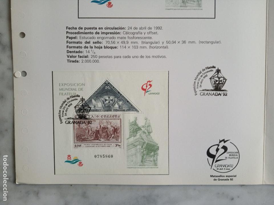 Sellos: 5 documentos filatelicos - Foto 8 - 244837410