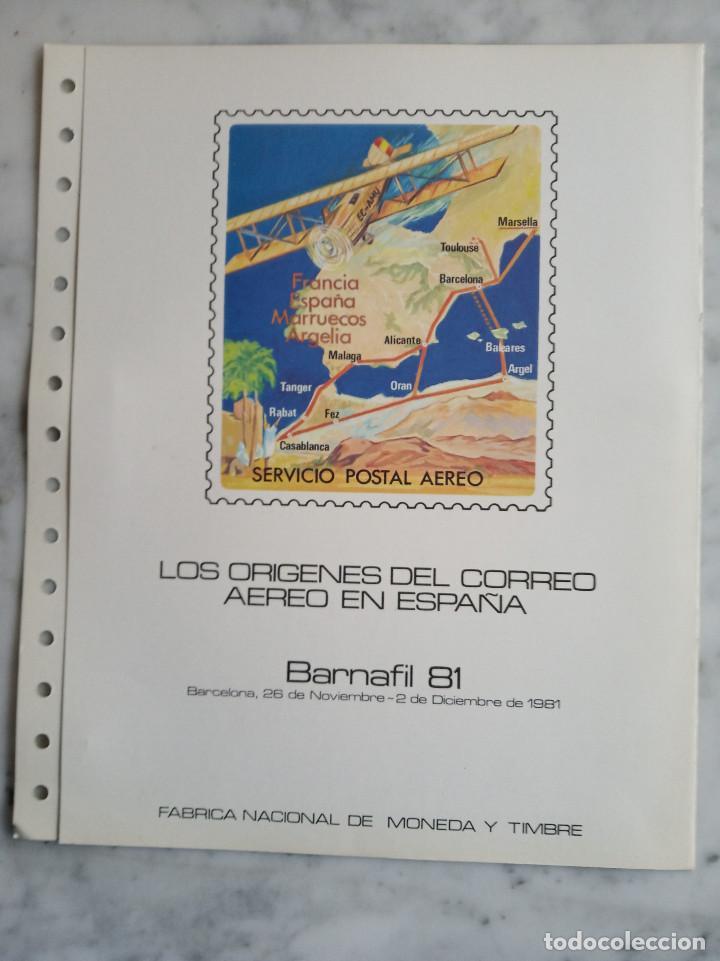 Sellos: 5 documentos filatelicos - Foto 9 - 244837410
