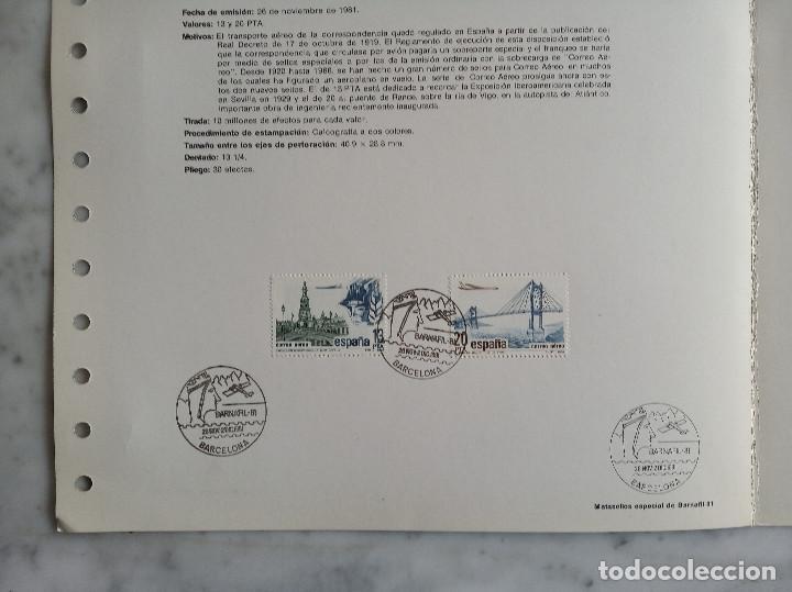 Sellos: 5 documentos filatelicos - Foto 10 - 244837410