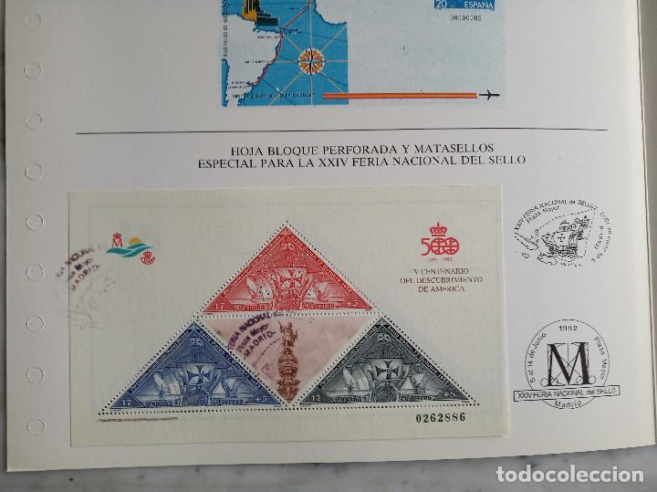 Sellos: 3 documentos filatelicos - Foto 4 - 244838095