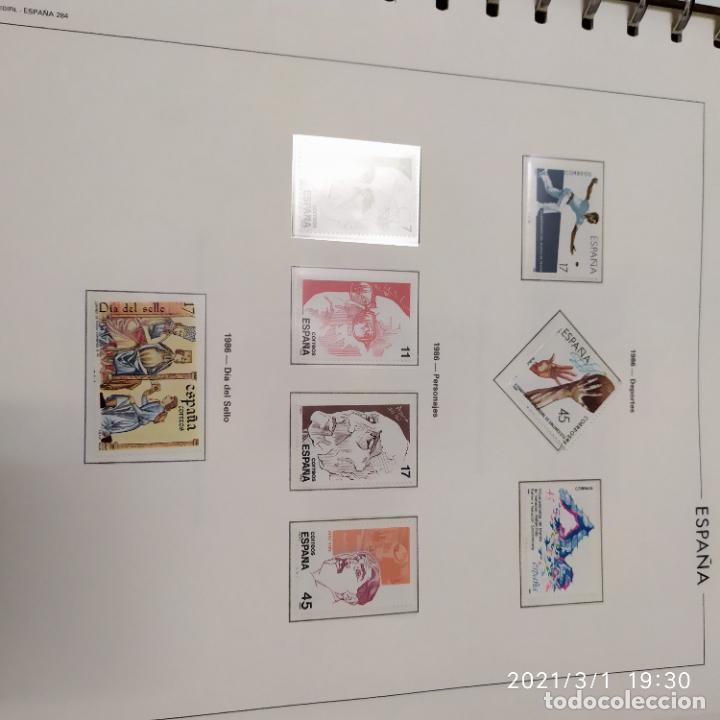 Sellos: Albun de sellos nuevos del año 1977 a 1986 587 sellos - Foto 3 - 245093575