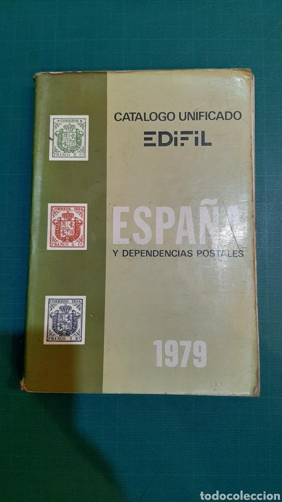1979 CATALOGO EDIFIL SELLOS ESPAÑA Y DEPENDENCIAS POSTALES USADO FILATELIA COLISEVM COLECCIONISMO (Sellos - Material Filatélico - Otros)