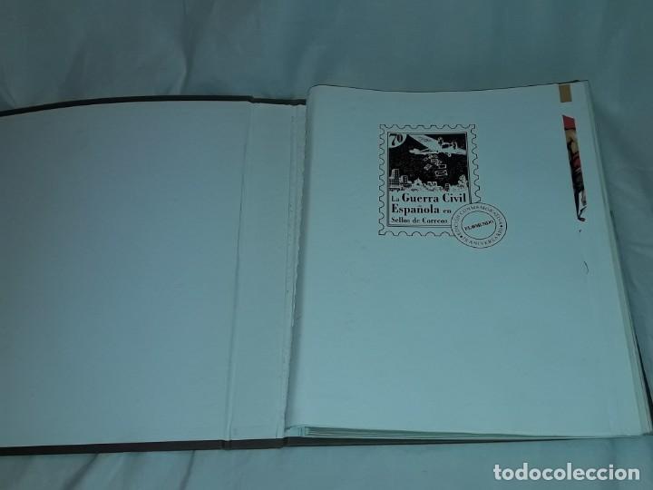 Sellos: Colección La Guerra Civil en Sellos de Correos Ed. El Mundo 51 hojas bloques - Foto 7 - 246193725