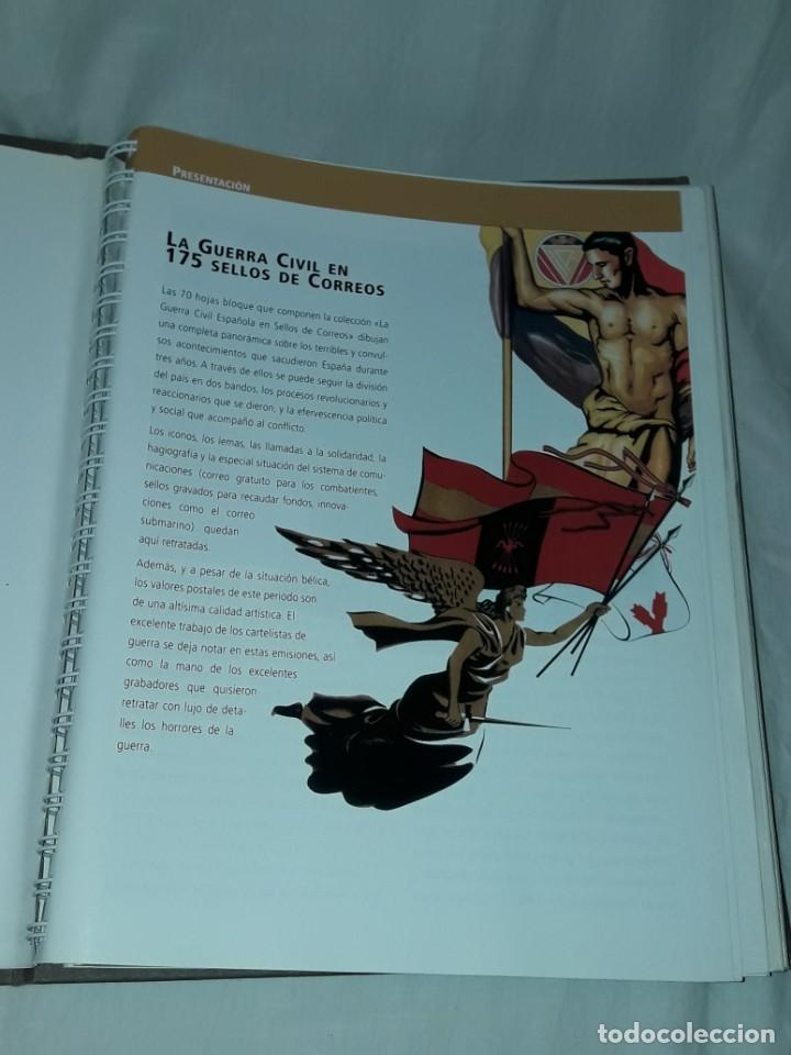 Sellos: Colección La Guerra Civil en Sellos de Correos Ed. El Mundo 51 hojas bloques - Foto 8 - 246193725