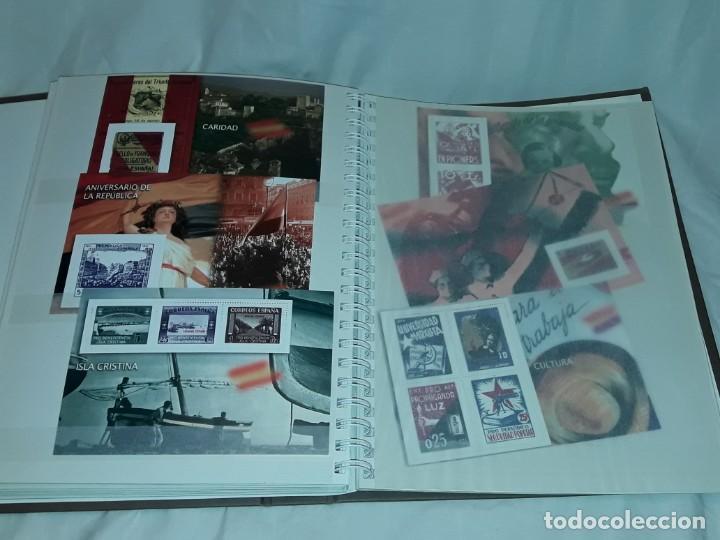 Sellos: Colección La Guerra Civil en Sellos de Correos Ed. El Mundo 51 hojas bloques - Foto 13 - 246193725