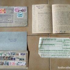 Sellos: CARTA Y SELLOS DE COLECCIONISTA FILATÉLICO, 1961. Lote 264794504