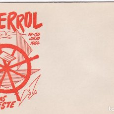 Sellos: SOBRE CONMEMORATIVO II FERIA DE MUESTRAS DEL NOROESTE, EL FERROL - 1964. Lote 269123853