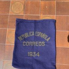 Sellos: RARA SACA / SACO CORREOS REPUBLICA ESPAÑOLA 1934. Lote 270614863