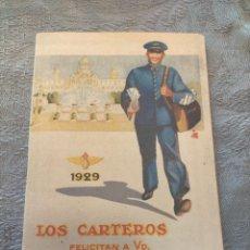 Sellos: ANTIGUO LIBRO PROMOCIONAL LOS CARTEROS FELICITAN A UD. LAS PASCUAS DE NAVIDAD 1929. Lote 276586613