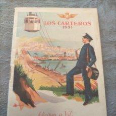 Sellos: ANTIGUO LIBRO PROMOCIONAL LOS CARTEROS FELICITAN A UD. LAS PASCUAS DE NAVIDAD 1931. Lote 276586698