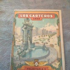 Sellos: ANTIGUO LIBRO PROMOCIONAL LOS CARTEROS FELICITAN A UD. LAS PASCUAS DE NAVIDAD 1933. Lote 276586823