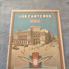 Sellos: ANTIGUO LIBRO PROMOCIONAL LOS CARTEROS FELICITAN A UD. LAS PASCUAS DE NAVIDAD 1934. Lote 276586923