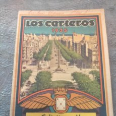 Sellos: ANTIGUO LIBRO PROMOCIONAL LOS CARTEROS FELICITAN A UD. LAS PASCUAS DE NAVIDAD 1935. Lote 276587053
