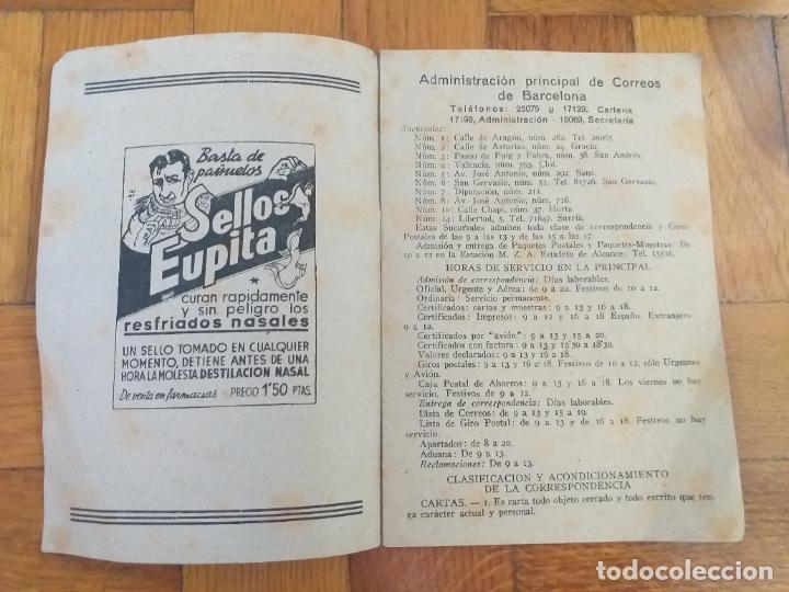 Sellos: EL CARTERO LES DESEA FELICES FIESTAS SERVICIO NACIONAL DE CORREOS EN BARCELONA 1940-1941 - Foto 2 - 276595208