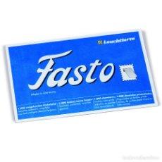Francobolli: LEUCHTTURM 309110 CHARNELAS FASTO. Lote 290882933