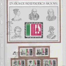 Sellos: GRAN OPORTUNIDAD MEXICO MAGNIFICO ALBUM CON DOS AÑOS DE MEXICO AÑOS 1985/1986 MONTADOS EN 23 HOJAS. Lote 15758648