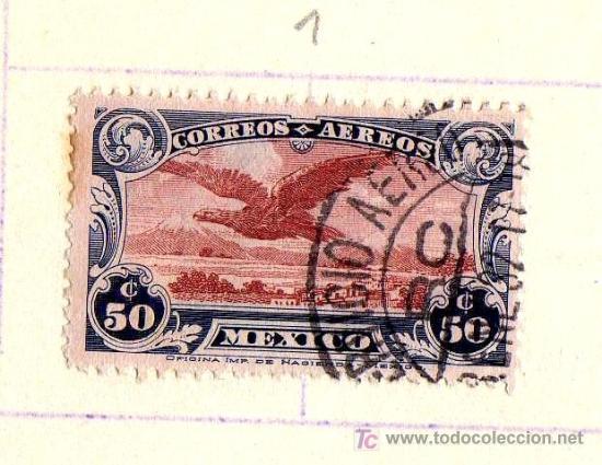Sellos: LOTE 3 SELLOS MÉXICO, CORREO AEREO, PRINCIPIO S.XX (VER IMÁGENES EN INTERIOR) - Foto 2 - 21789632