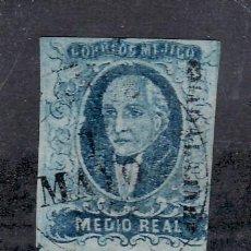 Sellos: MEXICO 1A USADA, MIGUEL HIDALGO, . Lote 24645829