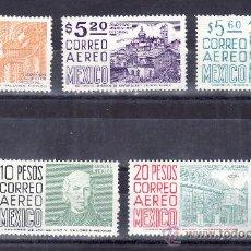 Sellos: MEXICO A 445/9 SIN CHARNELA, MEXICO Y LA CONSTITUCION DE 1857 . Lote 24742689
