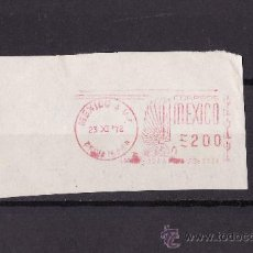 Sellos: FRANQUEO MECANICO FRAGMENTO MEXICO 1972. Lote 26733368