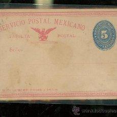 Sellos: TARJETA. SERVICIO POSTAL MEXICANO. . Lote 28587918