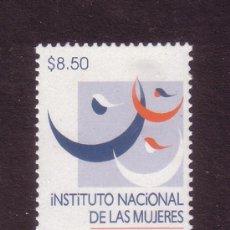 Sellos: MÉXICO 2004*** - AÑO 2002 - DÍA INTERNACIONAL DE LA MUJER. Lote 36962751