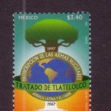 Sellos: MEXICO 1727*** - AÑO 1997 - TRATADO DE TLATELOLCO PARA LA PROHIBICION DE ARMAS NUCLEARES. Lote 36984259
