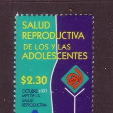 Sellos: MEXICO 1763*** - AÑO 1997 - SALUD REPRODUCTIVA DE LOS ADOLESCENTES. Lote 36997252