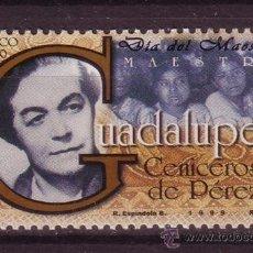 Sellos: MEXICO 1864*** - AÑO 1999 - DIA DEL MAESTRO. Lote 37033519