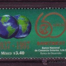 Sellos: MEXICO 1746*** - AÑO 1997 - 60º ANIVERSARIO DEL BANCO NACIONAL DE COMERCIO EXTERIOR. Lote 37033546