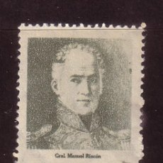 Sellos: MEXICO 626*** - AÑO 1947 - CENTENARIO DE LA BATALLA DE CHURUBUSCO - GENERAL MANUEL RINCON. Lote 37247270