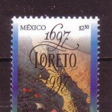 Sellos: MEXICO 1778*** - AÑO 1997 - 300º ANIVERSARIO DE LA CIUDAD DE LORETO. Lote 37247414