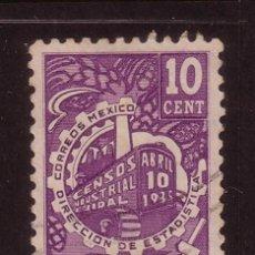 Sellos: MÉXICO 515 - AÑO 1935 - CENSO INDUSTRIAL. Lote 37759250