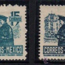 Sellos: MÉXICO. YVERT NSº 617/17A NUEVOS. Lote 38866029