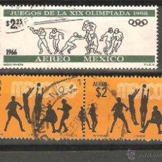Sellos: LOTE E2 SELLOS MEXICO DEPORTES. Lote 39462911