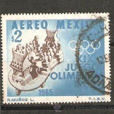 Sellos: LOTE-O SELLOS SELLO MEXICO GRAN TAMAÑO JUEGOS OLIMPICOS. Lote 40486475