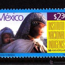 Sellos: MEXICO 1849** - AÑO 1998 - 50º ANIVERSARIO DEL INSTITUTO NACIONAL INDIGENISTA. Lote 43324437