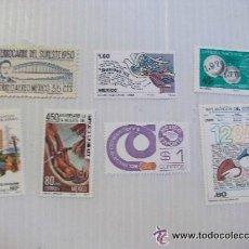 Sellos: LOTE DE 7 SELLOS DE MEXICO. VARIOS . SIN USAR .. Lote 43454806