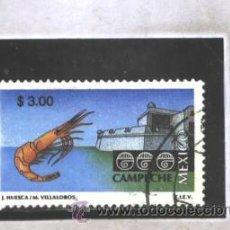 Francobolli: MEXICO 1993 - YVERT NRO. 1723 - USADO. Lote 44092222
