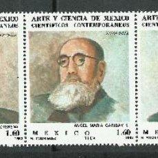 Sellos: MEXICO - 1982 - SCOTT 1293/1297A** MNH. Lote 235506635