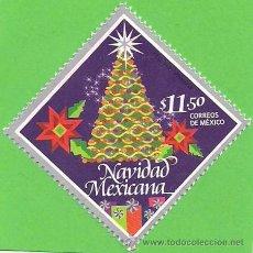 Francobolli: MÉXIICO - MICHEL 3893 - NAVIDAD - ÁRBOL DE NAVIDAD. (2014).** NUEVO SIN FIJASELLOS.. Lote 49339923