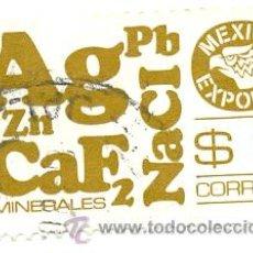 Sellos: 2-MEX861. SELLO USADO MEXICO. YVERT Nº 861. MEXICO EXPORTA. MINERALES. Lote 50508219
